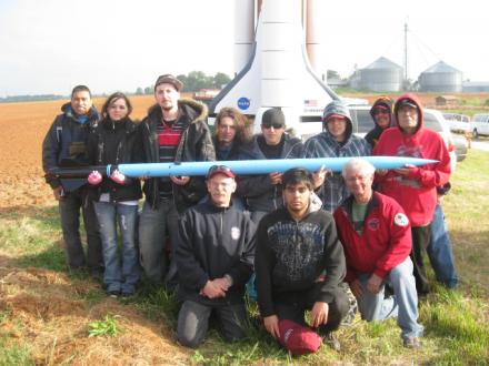 NWIC rocket team