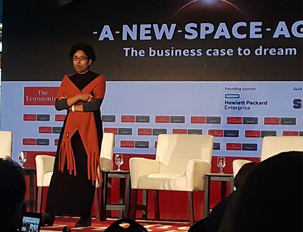 Susmita Mohanty speaking